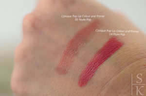 Clinique - Pop Lip Colour and Primer Nude Pop und Plum Pop