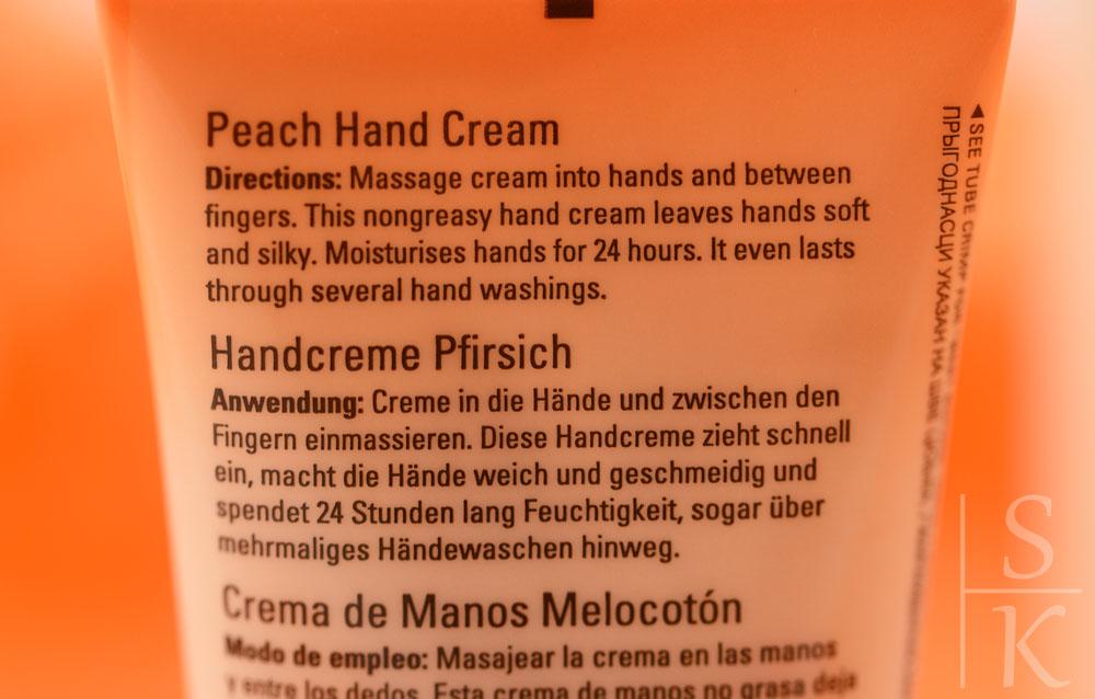 Mary Kay - Satin Hands Set Hand Cream Pfirsich