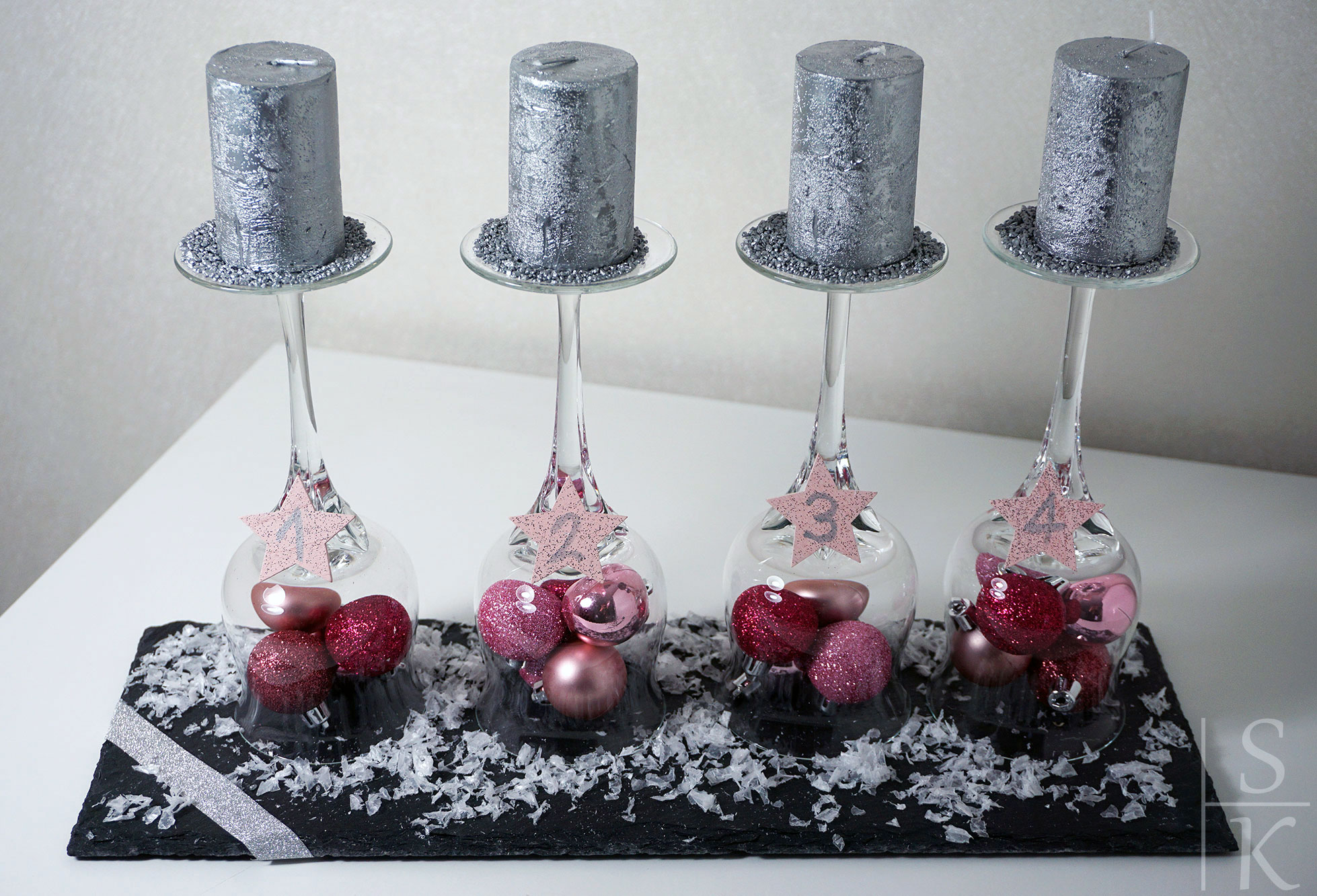 Adventskr nzchen diy adventskranz horizont blog - Pinterest adventskranz ...