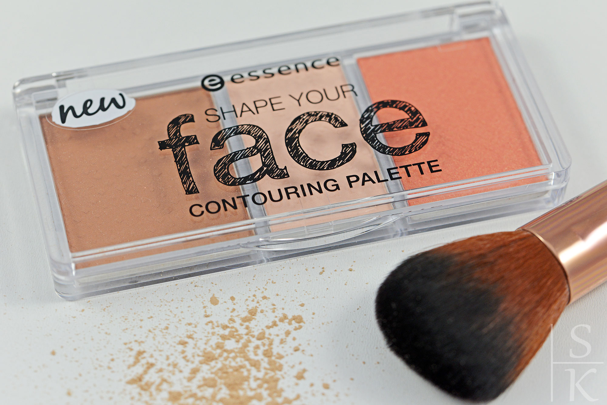 "Essence - Shape your Face Contouring Palette ""10 ready, set, peach!"""