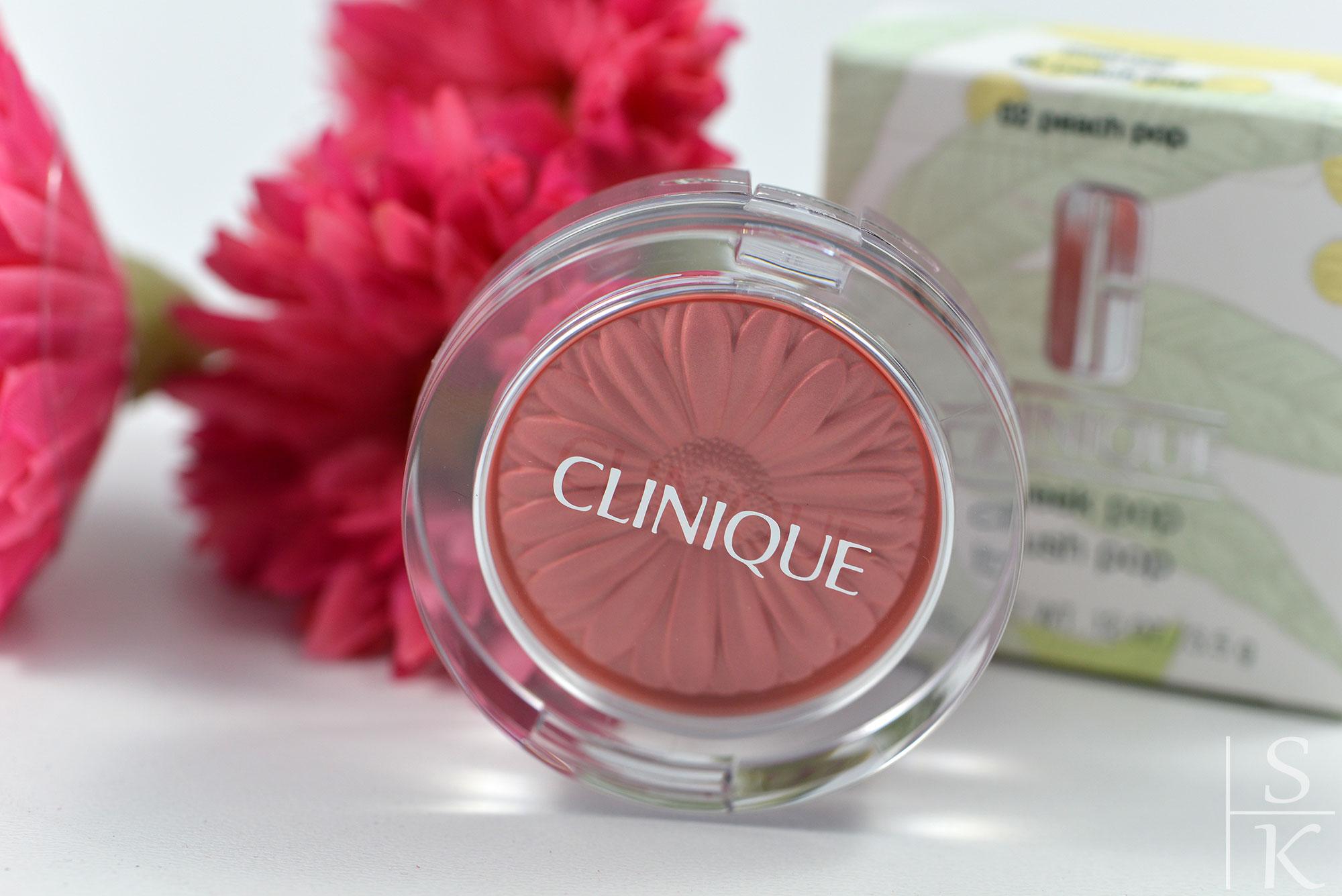 Clinique – Cheek Blush Peach Pop
