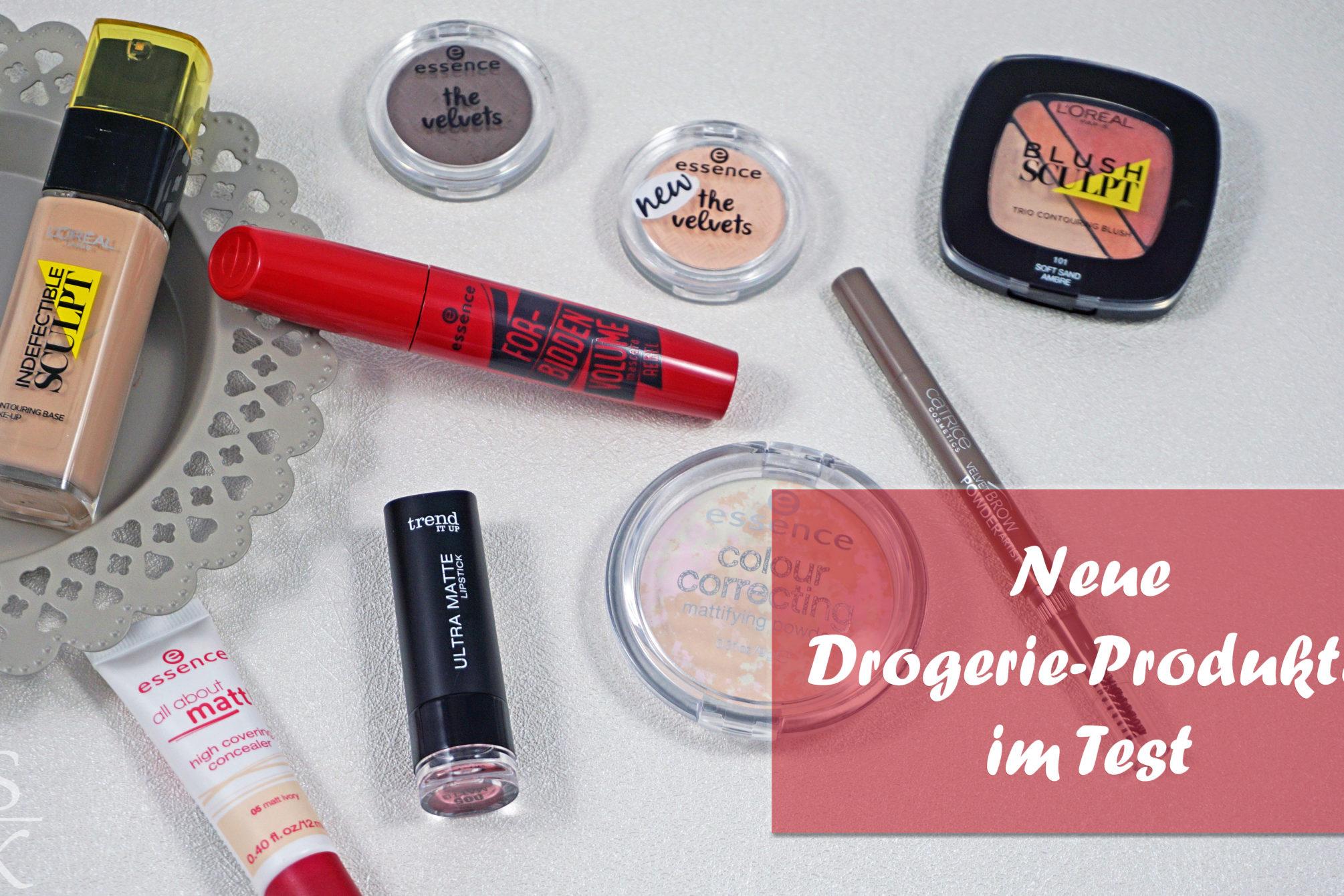 Neue Drogerie-Produkte im Test