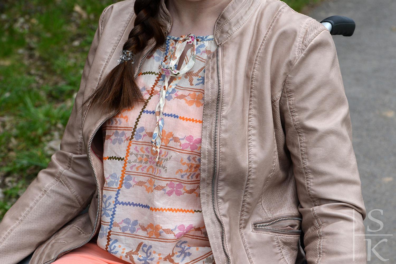 Outfit Bohemian - Look mit Jeans und Leder