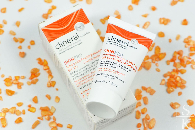 Ahava Clineral - Skin Pro Protective Moisturizing Cream SPF 50+