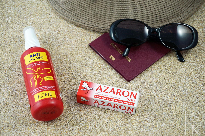 Drogerie-Haul für den Urlaub