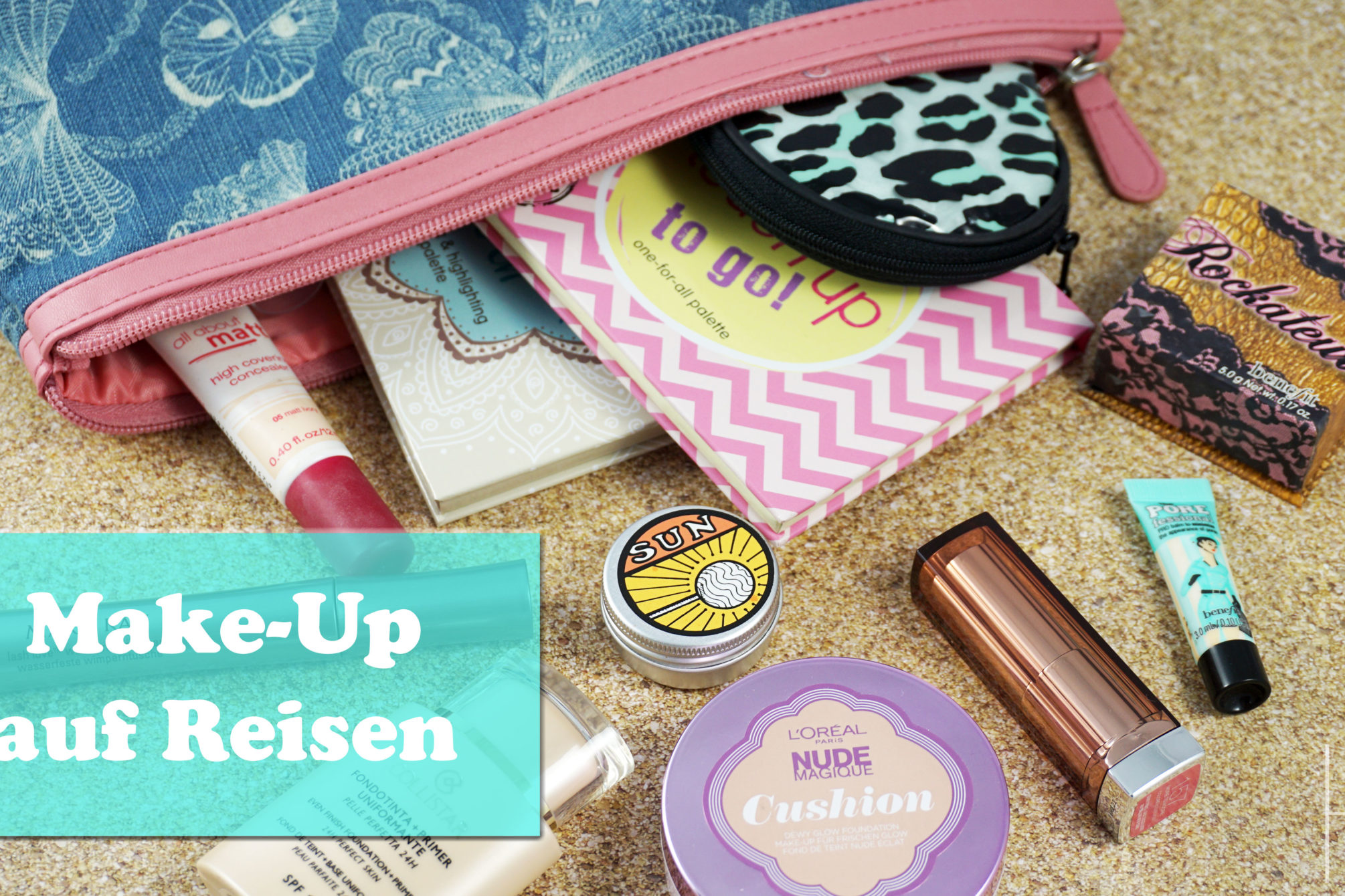 Make-Up auf Reisen