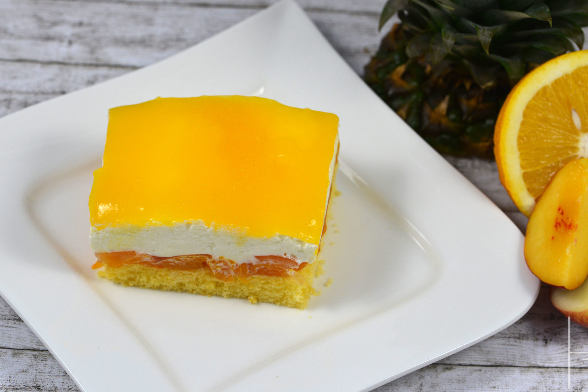 Rezept Multivitamin Torte Vom Blech Horizont Blog