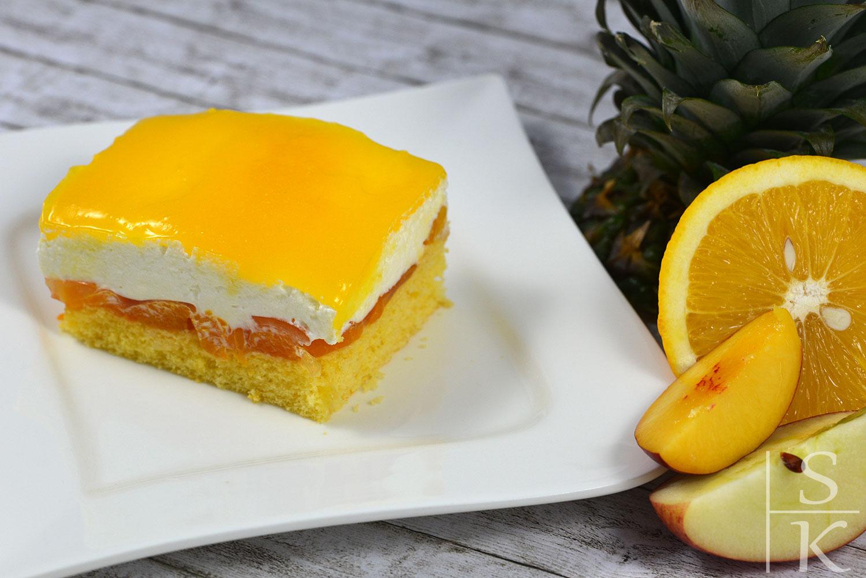 Rezept Multivitamin-Torte vom Blech