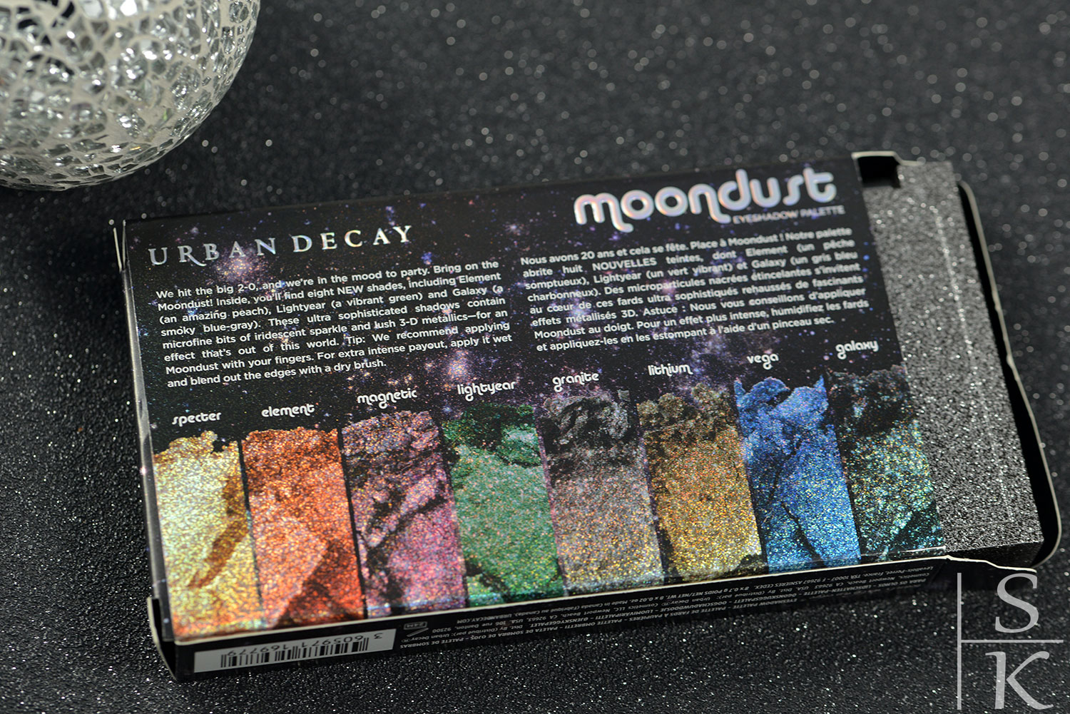 Urban Decay - Moondust Palette
