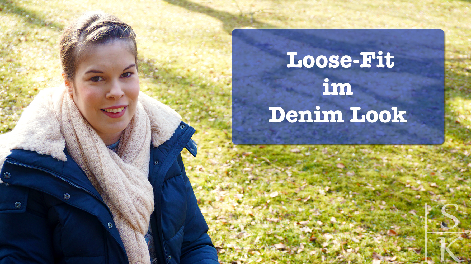Outfit Loose-Fit im Denim Look
