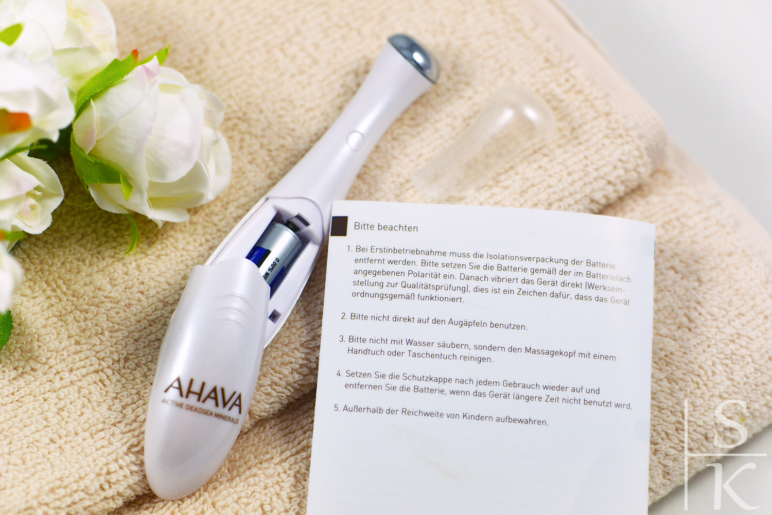 Ahava - Eye Wrinkle Eraser @Saskia-Katharina Most, Horizont-Blog