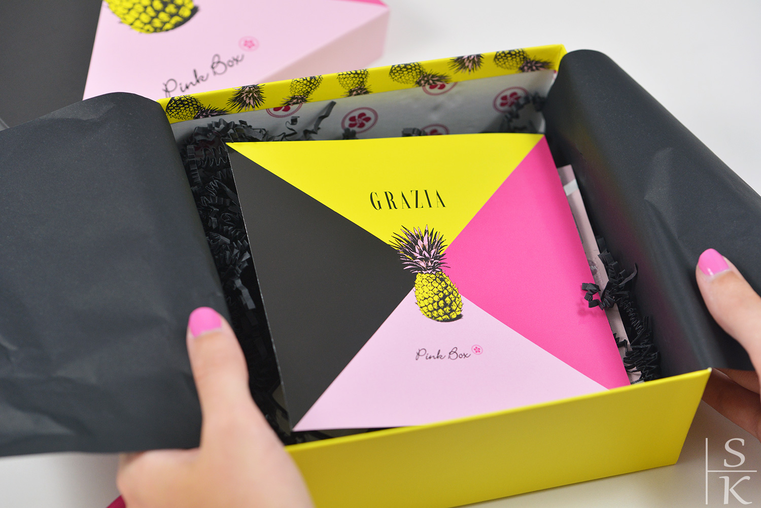 Grazia for Pink Box Juli 2017 @Saskia-Katharina Most, Horizont-Blog