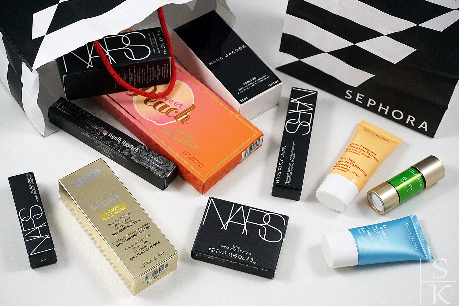 Sephora Haul - Nars, Too Faced, Marc Jacobs @Saskia-Katharina Most, Horizont-Blog