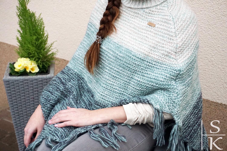 Outfit Ethno-Look mit Poncho Saskia-Katharina Most Horizont-Blog