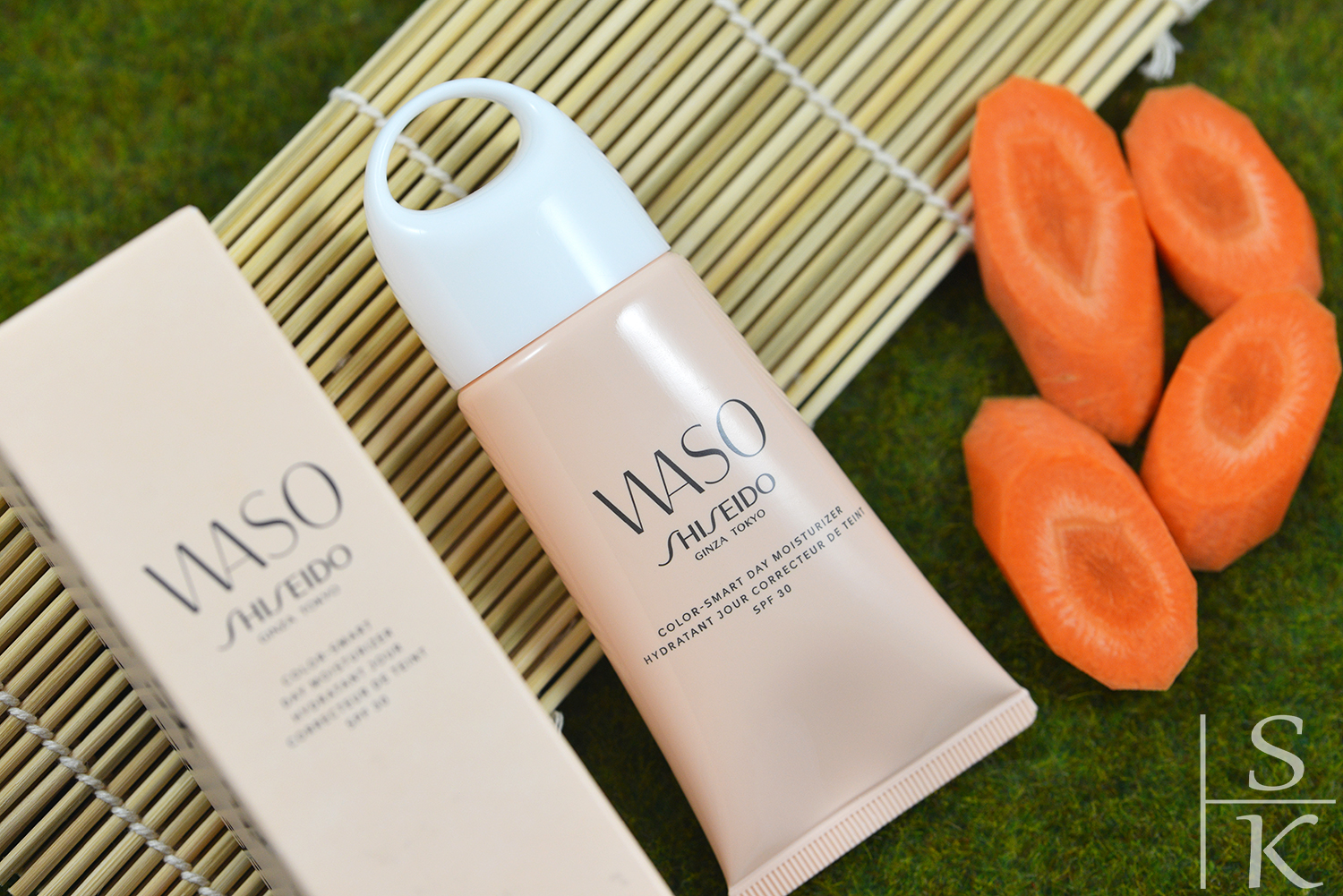 Shiseido WASO Color-smart Day Moisturizer SPF30 Review @Saskia-Katharina Most, Horizont-Blog