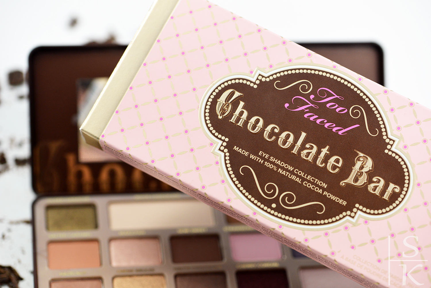 Too Faced - Chocolate Bar Review Saskia-Katharina Most, Horizont-Blog