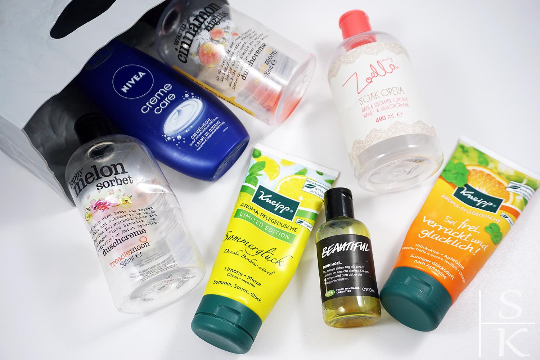 Aufgebrauchte Beauty-Produkte Empties 2018 Horizont-Blog Saskia Katharina Most
