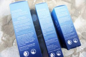 Review Oceanwell-Trio für strahlende Haut Horizont-Blog