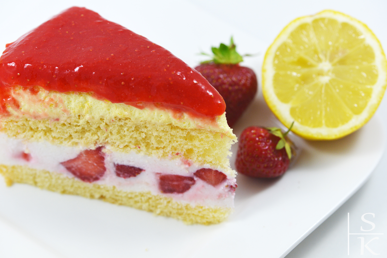Rezept Erdbeer-Paradies-Torte Horizont-Blog