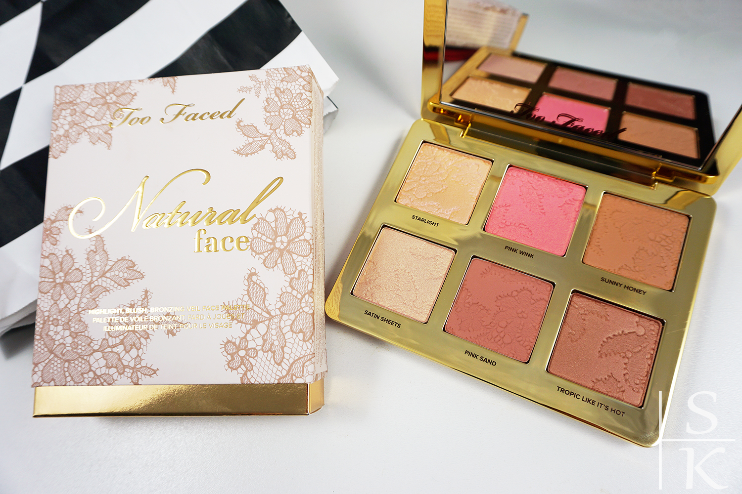 Beauty-Haul aus Italien Horizont-Blog Too Faced Natural Face Palette