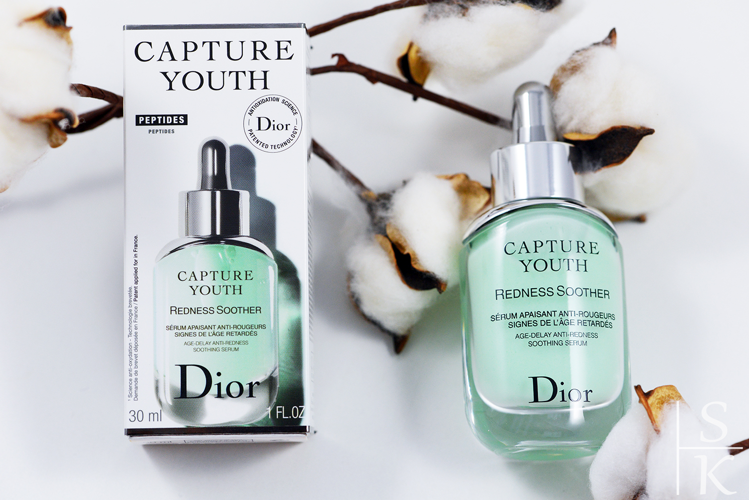 Dior - Anti-Redness Soothing Serum Review Horizont-Blog