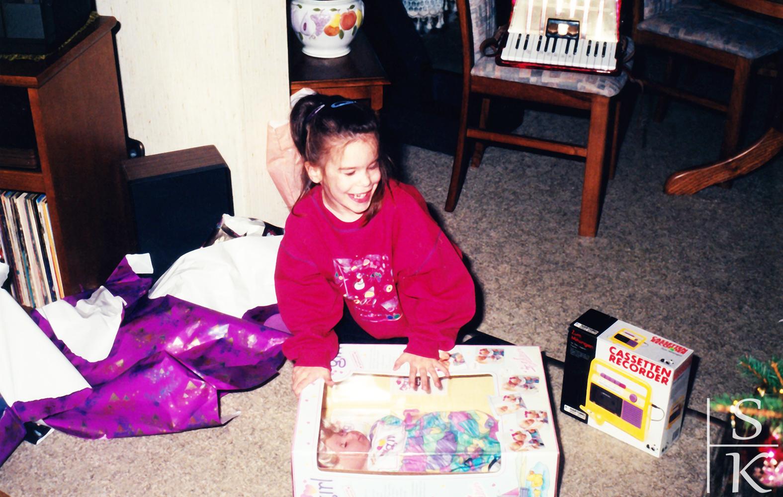 Kolumne Throwback Kindheit: Weihnachten wie es früher war @Horizont-Blog, Saskia Katharina Most