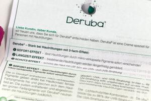 Deruba Creme bei Rötungen Review Horizont-Blog