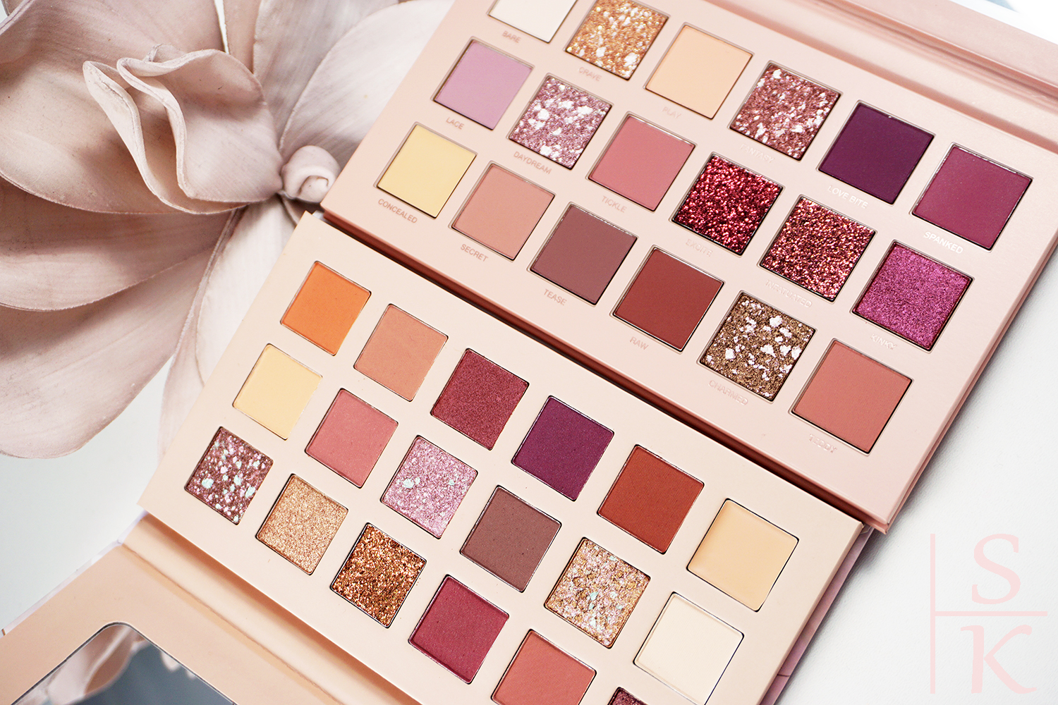 Ist die CatriceNude Peony Pressed Pigment Palette ein gutes Dupe Huda Beauty The New Nude Palette? @Horizont-Blog
