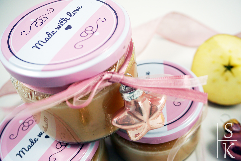 Rezept Apfel-Marzipan-Marmelade @Horizont-Blog