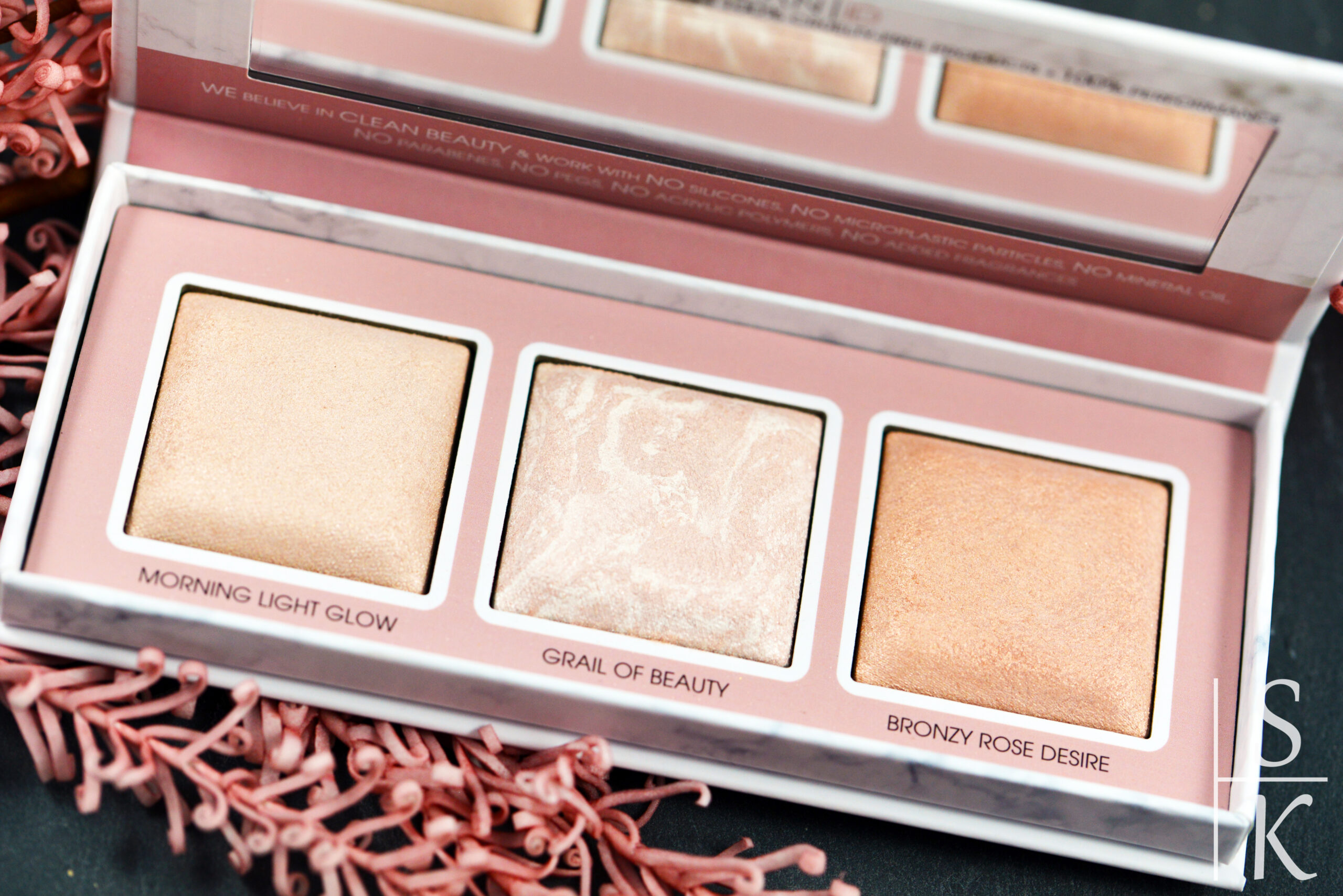 {Review} Catrice - Clean ID Mineral Highlighting Palette Rosy Shimmer @Horizont-Blog