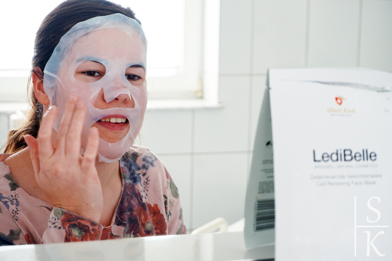 LediBelle - Gesichtsmaske Review Horizont-Blog Saskia Katharina Most
